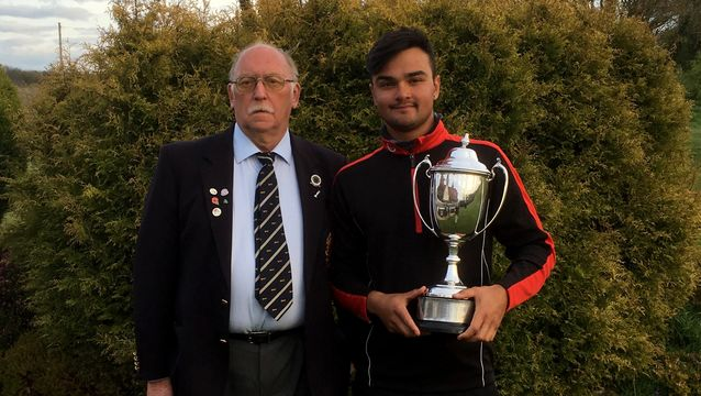 Jevann Parmar (The Leicestershire) wins the Spring Tournament