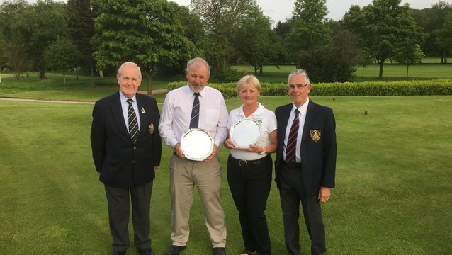 David Gray & Julie Dawson win the Jackson Trophies