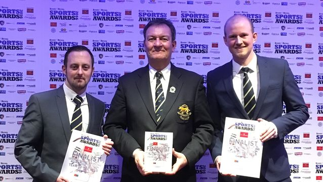 County team commended in Leicester Mercury Sports Awards